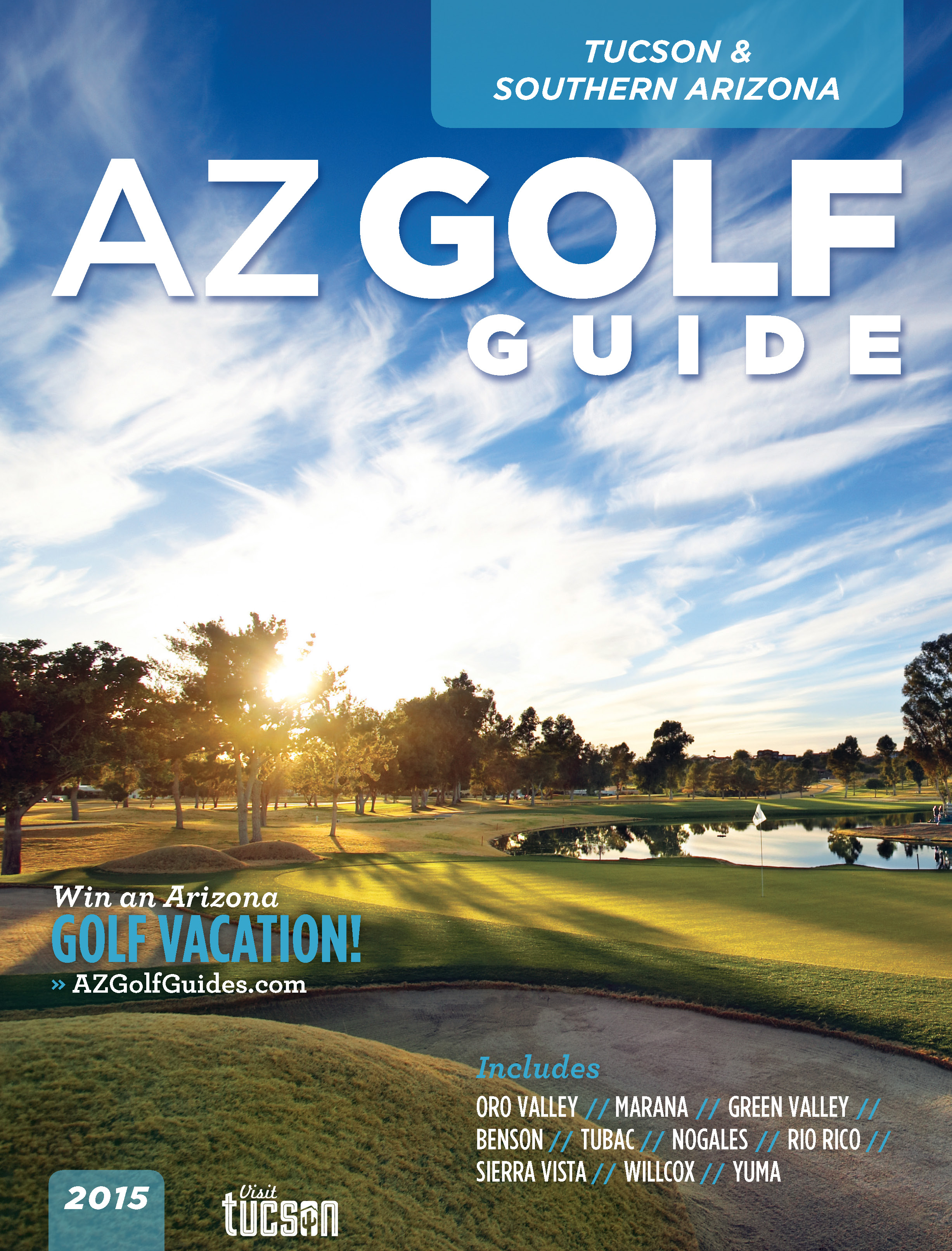 2015 Visit Tucson AZ Golf Guide
